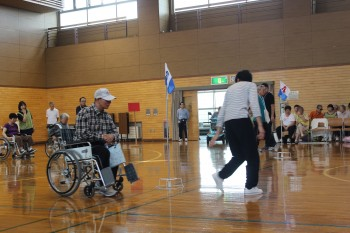 車椅子リレー